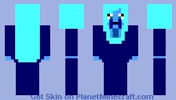 Blue Diamond Minecraft Skin