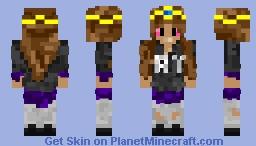 Ay Sweater Girl (First Female Skin) Minecraft Skin