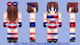 🎆 Happy Fourth of July! || Sport Girl Edition || Monica Reyes 🎆
