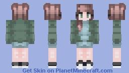 Shoot me Minecraft Skin