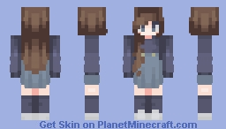 All i gave you is gone. Minecraft Skin