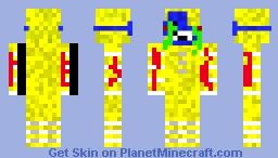 NightmareSadnessPuppet - FNWS Minecraft Skin