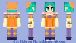 Cerebella (edit) Minecraft Skin