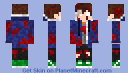 Do you think that now I am beautiful mom? Minecraft Skin