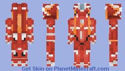 Franxx - Strelizia [Red] Minecraft Skin