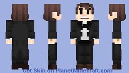 Bipper - Gravity Falls Minecraft Skin