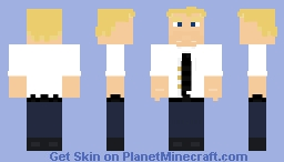 The Incredibles - Bob Parr Minecraft Skin