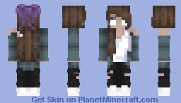 Herobette / Herobrine's Daughter Minecraft Skin
