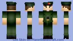 FTU Canadian Army Cadet uniform. Minecraft Skin