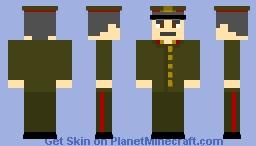 Iosif Stalin - (with cap) leader of the union of soviet socialist republic Minecraft Skin