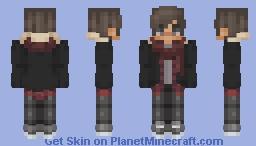 New Scarf Boy Minecraft Skin