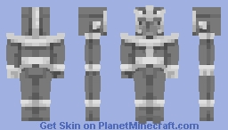 Thanos...but grayscale [Grayscale Skin Contest] Minecraft