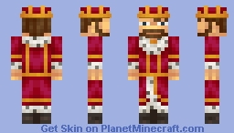 a king! a ruler! a monarch! Minecraft Skin