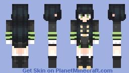 [Owari No Seraph] Female Yuichiro Hyakuya - Yuu-Chan (Updated) - 𝚁𝚢𝚘𝚌𝚌𝚑𝚊𝚗 Minecraft Skin