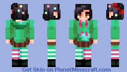~✿~ Vanellope Schweetz || Level 38 ! || popreel Minecraft