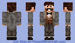 right conservative men / правый консервативный мужчина Minecraft Skin