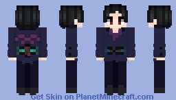 Yuri Katsuki - Free Skate Program: Yuri on ICE / Yuri!!! on Ice Minecraft Skin