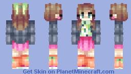 Inspirinq & Chatie l♥︎l Girls Just Wanna Have Fun Minecraft Skin