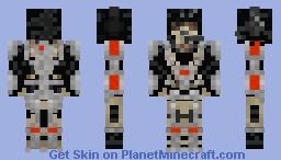 Anti - Apocalypse Soldier Minecraft Skin