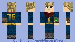 Fallout 76 Vault Dweller Skin Minecraft Skin