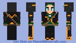 Aimee Obsidian   Dirty Bomb Minecraft Skin