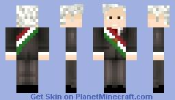 AMLO Minecraft Skin