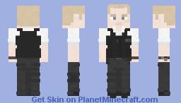 Sergeant Nicholas Angel - Hot Fuzz (Credit to Terminant) Minecraft Skin