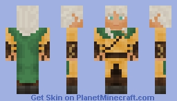 Beleg the Archer, Elf of the First Age Minecraft Skin