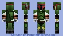 Star Wars Boba Fett Minecraft Skin