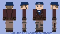 Captain America: The First Avenger | Captain America Minecraft Skin