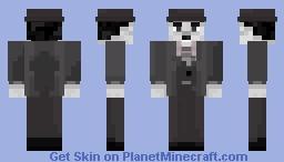 Charlie Chaplin Minecraft Skin
