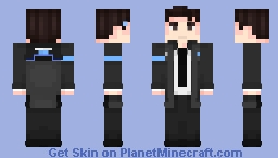Connor -- Detroit: Become Human Minecraft