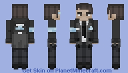 ~ Connor RK800 (DBH) ~ Minecraft