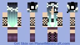 CykoKawaii13 my original character Jess Minecraft Skin