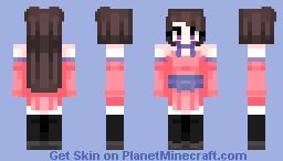 𝔽𝕝𝕒𝕞𝕚𝕟𝕘𝕠 Minecraft Skin
