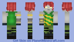 Chromium | Fortnite Minecraft Skin