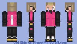 Fortnite Drift (Stage 3) Minecraft Skin