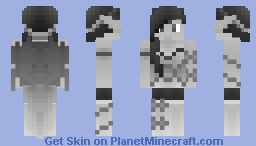 Darkened Fairy Minecraft Skin