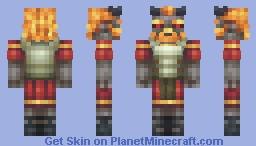 Firegod Minecraft Skin