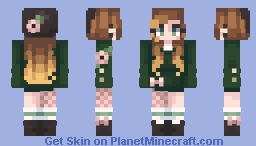 Florals // flowers remake Minecraft Skin