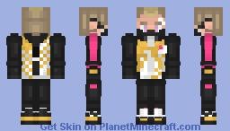 Fortnite Drift (Stage 2) Minecraft Skin