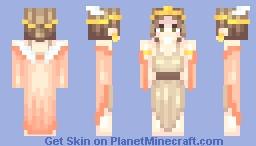 god is a woman ★ Minecraft Skin