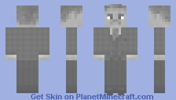 1940's Business Man Minecraft Skin