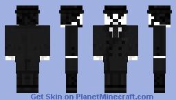 Grayscale Minecraft Skin Contest - XX Century Man Minecraft Skin