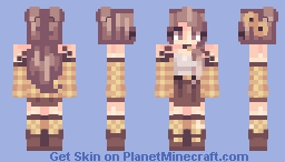 Wand|| Honeybee Minecraft Skin