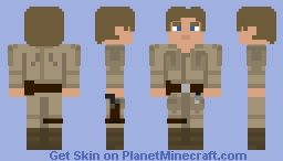 Luke Skywalker (Bespin) : The Empire Strikes Back Minecraft Skin