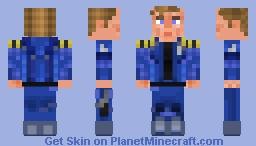 Captain Kirk- Star Trek Beyond Minecraft Skin