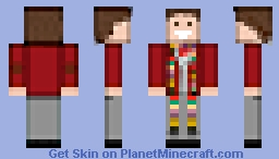 Tom Baker Minecraft Skin