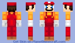 SMO Outfit #1 Minecraft Skin