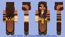 [LotC] Sunbathed Elfess Minecraft Skin